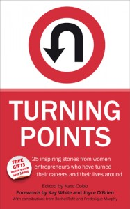 Image of Turning Points Book Cover on Adventures in Expat Land