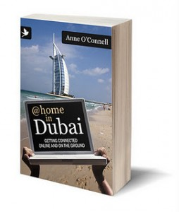 Cover of @Home in Dubai book on www.adventuresinexpatland.com
