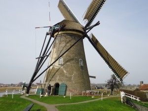 windmill at Kinderdijk on Adventures in Expat Land