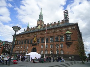 Town Hall and World Clock in Copenhagen on Adventures in Expat Land