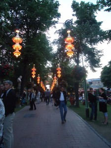 Strolling through Tivoli Gardens on Adventures in Expat Land