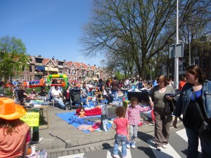 yard sale on Queen's Day Adventures in Expat Land
