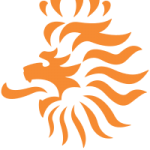 photo of Royal Dutch Football Association logo of orange lion on www.adventuresinexpatland.com