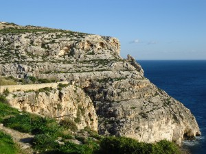 Maltese coastline on www.adventuresinexpatland.com