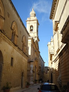 Mdina sidestreet on Adventures in Expat Land