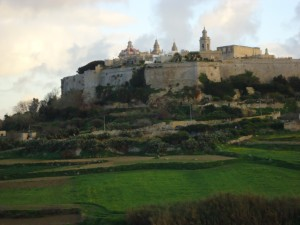 Mdina on the hillside on www.adventuresinexpatland.com