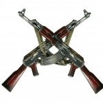 photo of crossed AK-47s on www.adventuresinexpatland.com