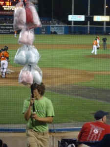 Young man selling cotton candy on Adventures in Expat Land