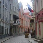 photo of street in Tallinn Estonia on www.adventuresinexpatland.com