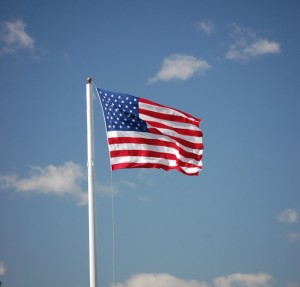Photo of American flag by Chuck Felix portfolio 303 on www.adventuresinexpatland.com